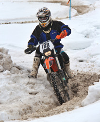 Enduro and snow